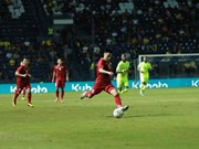 Le Vietnam se classe deuxième à la King's Cup 2019