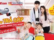 Vietjet permet d'acheter des billets d'avion à crédit avec HD SAISON
