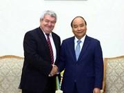Le PM Nguyen Xuan Phuc reçoit le vice-président de la Chambre des représentants de la R. tchèque