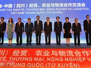 Vietnam et Chine renforcent leur coopération dans le commerce, l'agriculture et la logistique