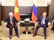 Les relations Vietnam-Russie se développent bien en tous domaines