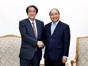 Le Premier ministre Nguyen Xuan Phuc reçoit l'ambassadeur du Japon