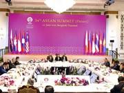 Le Premier ministre Nguyen Xuan Phuc assiste à la séance plénière du 34e sommet de l'ASEAN