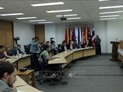 Conférence de presse sur le rôle de l'ASEAN dans l'Indo-Pacifique