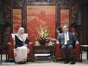 La Chine et la Malaisie intensifient leurs relations bilatérales