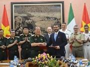 Troisième dialogue sur la politique de défense Vietnam-Italie