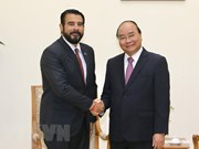 Le Premier ministre Nguyen Xuan Phuc reçoit l'ambassadeur du Panama