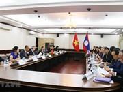 4ème consultation politique Vietnam - Laos