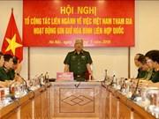 Le Vietnam étudie l'envoi de forces civiles dans les missions de maintien de la paix de l'ONU