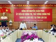 Lao Cai appelée à figurer dans la liste de 15 provinces développées du pays