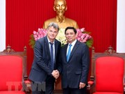 Une délégation du Parti communiste français en visite de travail au Vietnam