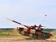 Une délégation militaire vietnamienne de haut rang en visite en Russie