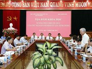 Table-ronde sur les 50 ans d'application du Testament de Hô Chi Minh