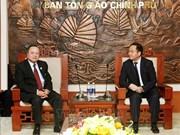 Religion : Coopération intensifiée entre le Vietnam et le Laos