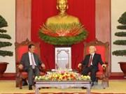 Le chef du Parti salue la visite du Premier ministre cambodgien