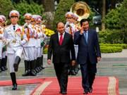 Le Premier ministre cambodgien termine avec succès sa visite officielle au Vietnam