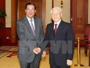 Samdech Techo Hun Sen au Vietnam: la presse cambodgienne en parle