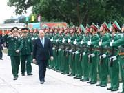 Le Premier ministre Nguyên Xuân Phuc travaille à Quang Ninh