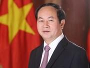 Le président Trân Dai Quang adresse un message de confiance