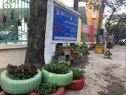 À Hanoi, des dépotoirs transformés en jardinets de fleurs