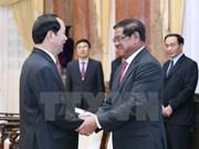 Le chef de l'Etat reçoit le vice-PM cambodgien et ministre de l'Intérieur