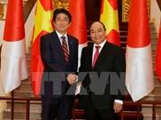 Entretien Nguyen Xuan Phuc – Shinzo Abe