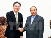 Le PM reçoit le chef de la Bank of Tokyo-Mitsubishi UFJ
