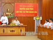 Khanh Hoa exhortée à considérer le tourisme comme moteur économique