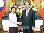 Vietnam-Laos: Le président invite à faire appliquer les accords conclus