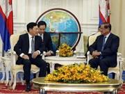 Vietnam et Cambodge achèvent bientôt la délimitation et le bornage des frontières