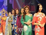 La 4e Fête de l'áo dài se clôture en beauté à Hô Chi Minh-Ville
