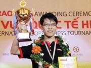Lê Quang Liêm rafle le 7e Tournoi international d'échecs HDBank