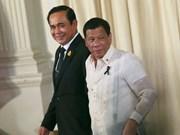 Thaïlande et Philippines mettent en avant la paix et la stabilité en Mer Orientale