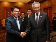 Hanoi souhaite nouer des liens multisectoriels avec Singapour