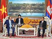 Pour approfondir les relations de solidarité et d'amitié traditionnelles Vietnam-Cambodge