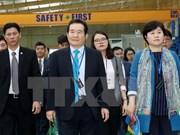 Le président de l'AN sud-coréenne termine sa visite au Vietnam