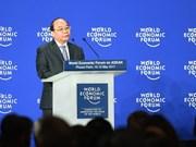 Le PM Nguyên Xuân Phuc présente sa vision au WEF ASEAN 2017
