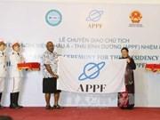 Le Vietnam assume la présidence du FPAP