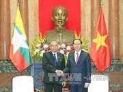 Le président Trân Dai Quang exhorte à dynamiser les liens Vietnam-Myanmar