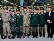 Le Vietnam et le Royaume-Uni coopèrent sur le maintien de la paix