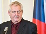 Le président tchèque Milos Zeman attendu au Vietnam