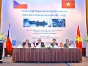 Vietnam et R. tchèque renforcent leur coopération dans le commerce et l'investissement