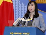 La R. de Corée doit ne pas produire des paroles portant atteinte au sentiment du peuple vietnamien