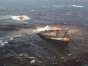 Naufrage d'un pétrolier au large de la Malaisie, six disparus