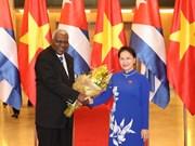 Le président de l'Assemblée nationale cubaine termine sa visite au Vietnam