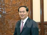 Le président Tran Dai Quang effectuera une visite officielle en Russie et en Biélorussie