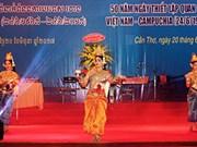 Les 50 ans des relations diplomatiques Vietnam-Cambodge fêtés à Cân Tho