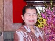 "Le Cambodge loue un ""grand ami qui l'a aidé à bâtir la paix"""