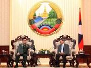 Le PM laotien apprécie les acquis des comités vietnamien et laotien