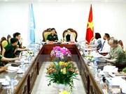 Le Vietnam prêt à participer aux opérations de maintien de paix de l'ONU